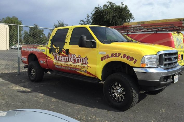 Vehicle Wraps And Commercial Printing Services Simi Valley