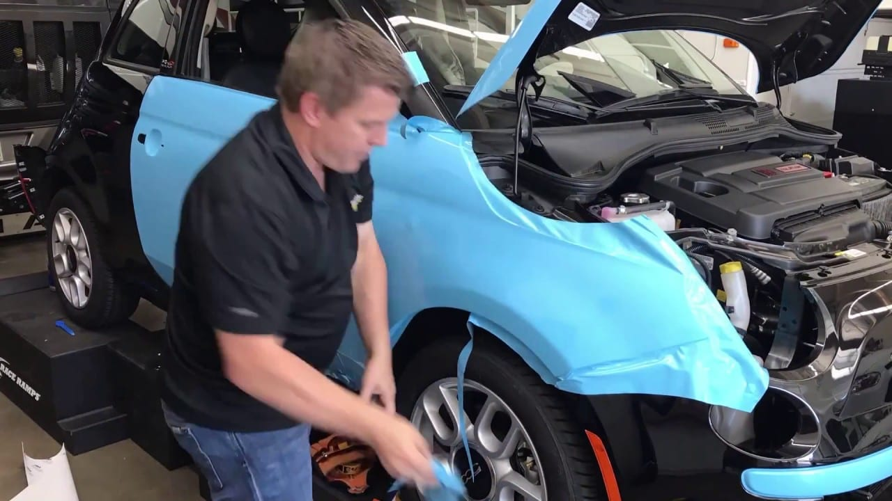 3M 1080 Sky Blue Gloss- Time Lapse